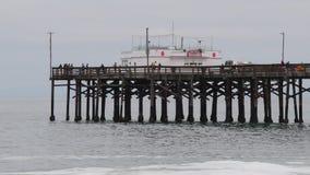 παραλία Newport απόθεμα βίντεο