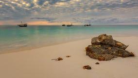 Παραλία Nungwi Στοκ φωτογραφία με δικαίωμα ελεύθερης χρήσης