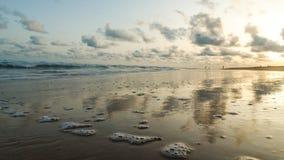 Παραλία Obama Cotonou, Μπενίν στοκ εικόνα