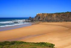 Παραλία Odeceixe, ακτή Vicentine, Αλεντέιο, Πορτογαλία Στοκ φωτογραφία με δικαίωμα ελεύθερης χρήσης