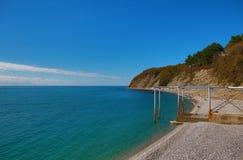 Παραλία Olginki Στοκ φωτογραφία με δικαίωμα ελεύθερης χρήσης