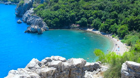 Παραλία Olympos, Τουρκία στοκ εικόνα με δικαίωμα ελεύθερης χρήσης