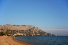Παραλία Omis στοκ φωτογραφίες με δικαίωμα ελεύθερης χρήσης