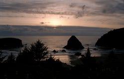 Παραλία Pacific Northwest, ΗΠΑ Στοκ φωτογραφία με δικαίωμα ελεύθερης χρήσης