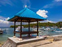 Παραλία Padangbai - νησί Ινδονησία του Μπαλί Στοκ φωτογραφίες με δικαίωμα ελεύθερης χρήσης