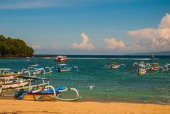 Παραλία Padangbai Νησί Ινδονησία του Μπαλί Στοκ φωτογραφία με δικαίωμα ελεύθερης χρήσης