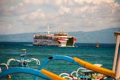 Παραλία Padangbai Νησί Ινδονησία του Μπαλί Στοκ φωτογραφίες με δικαίωμα ελεύθερης χρήσης
