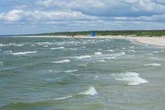Παραλία Palanga Στοκ εικόνα με δικαίωμα ελεύθερης χρήσης