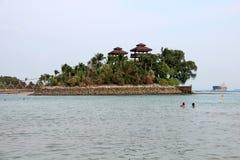 Παραλία Palawan - Sentosa Στοκ εικόνες με δικαίωμα ελεύθερης χρήσης