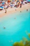 Παραλία Paleokastritsa Στοκ Εικόνες