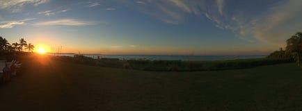 Παραλία Panaorama Καλιφόρνιας Στοκ φωτογραφία με δικαίωμα ελεύθερης χρήσης