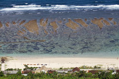 Παραλία Pandawa Στοκ φωτογραφία με δικαίωμα ελεύθερης χρήσης