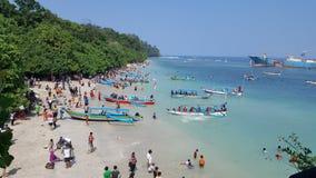 Παραλία Pangandaran στοκ εικόνες