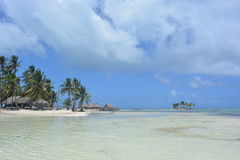 Παραλία Paradisaical στο αρχιπέλαγος SAN Blas, Panamà ¡ Στοκ Εικόνα