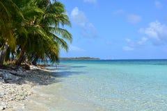 Παραλία Paradisaical του αρχιπελάγους SAN Blas, Panamà ¡ Στοκ φωτογραφία με δικαίωμα ελεύθερης χρήσης