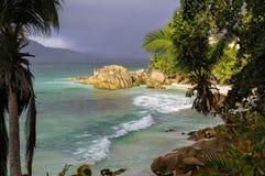 Παραλία Patates Anse Στοκ Εικόνες