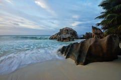 Παραλία Patates Anse Στοκ εικόνες με δικαίωμα ελεύθερης χρήσης