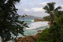 Παραλία Patates Anse Στοκ εικόνα με δικαίωμα ελεύθερης χρήσης