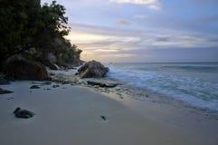 Παραλία Patates Anse Στοκ φωτογραφίες με δικαίωμα ελεύθερης χρήσης
