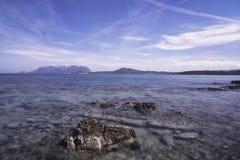 Παραλία Pittulongu Στοκ Φωτογραφίες