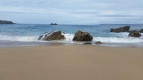 Παραλία Plogoff Στοκ εικόνες με δικαίωμα ελεύθερης χρήσης