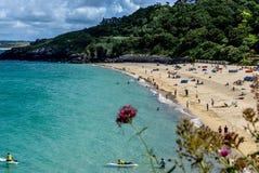Παραλία Porthminster, ST Ives στοκ εικόνα με δικαίωμα ελεύθερης χρήσης