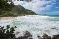 Παραλία Prainha στο Ρίο ντε Τζανέιρο Στοκ φωτογραφίες με δικαίωμα ελεύθερης χρήσης