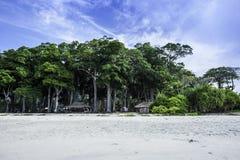 Παραλία Radhanagar Στοκ εικόνες με δικαίωμα ελεύθερης χρήσης