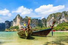 παραλία railay Επαρχία Krabi, Ταϊλάνδη Στοκ Φωτογραφία