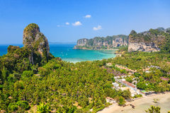 παραλία railay Επαρχία Krabi, Ταϊλάνδη Στοκ Εικόνα