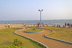 Παραλία Ramakrishna σε Vishakhapatnam στοκ φωτογραφία με δικαίωμα ελεύθερης χρήσης