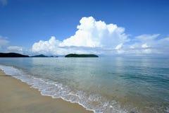 Παραλία Rhu Tanjung Στοκ Φωτογραφία