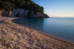 Παραλία Rovinia, Κέρκυρα, Ελλάδα Στοκ φωτογραφία με δικαίωμα ελεύθερης χρήσης