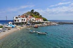 Παραλία samos, Ελλάδα Kokkari Στοκ εικόνα με δικαίωμα ελεύθερης χρήσης