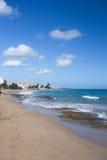 Παραλία San Juan Πουέρτο Ρίκο Condado Στοκ Εικόνα