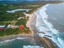 Παραλία Santana για τα surfers στοκ εικόνα
