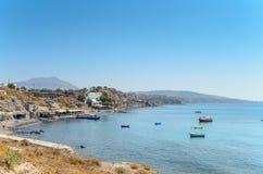 Παραλία Santorini, Ελλάδα Στοκ Εικόνες