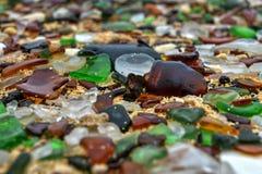 Παραλία Seaglass - Βερμούδες Στοκ Εικόνα