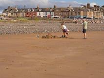 Παραλία Seascale στοκ εικόνα με δικαίωμα ελεύθερης χρήσης