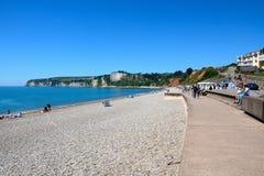 Παραλία Seaton στοκ φωτογραφία με δικαίωμα ελεύθερης χρήσης