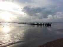 Παραλία Selsey Στοκ εικόνα με δικαίωμα ελεύθερης χρήσης