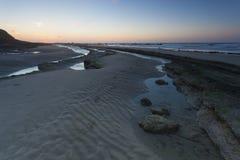 Παραλία Sirene, ΚΑΠ Gris Nez, υπόστεγο δ ` opale Στοκ εικόνες με δικαίωμα ελεύθερης χρήσης