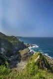 Παραλία Siung, Τζοτζακάρτα, Ινδονησία Στοκ φωτογραφία με δικαίωμα ελεύθερης χρήσης