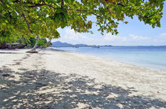 Παραλία Sivalai Haad στο νησί Mook Στοκ φωτογραφία με δικαίωμα ελεύθερης χρήσης