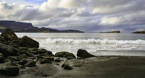 Παραλία Staffin στοκ εικόνες