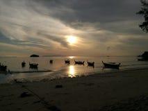 Παραλία Sunrises Στοκ Φωτογραφία