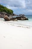 Παραλία Takamaka Anse στις Σεϋχέλλες Στοκ εικόνες με δικαίωμα ελεύθερης χρήσης