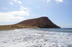 Παραλία Tejita Tenerife Στοκ Εικόνες