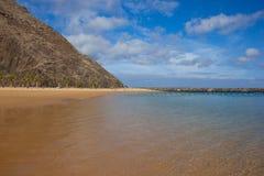 Παραλία Tenerife, Ισπανία Στοκ φωτογραφίες με δικαίωμα ελεύθερης χρήσης