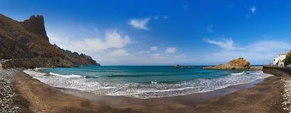 Παραλία Tenerife στο νησί - καναρίνι Ισπανία Στοκ Φωτογραφίες